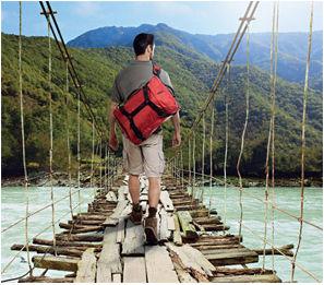 bagage souple voyageur