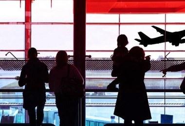 famille aéroport