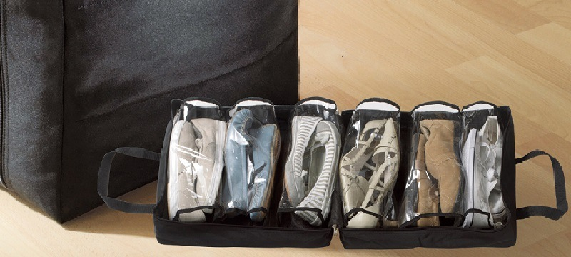 Les housses pour chaussures mon bagage cabine - Housse de rangement pour chaussures ...