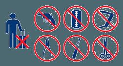objets-interdits-bagage-en-cabine