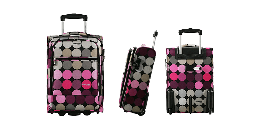 la valise cabine david jones souple mon bagage cabine. Black Bedroom Furniture Sets. Home Design Ideas
