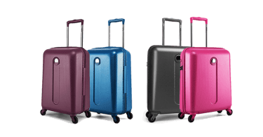 la valise cabine delsey cross trip roulettes mon bagage cabine. Black Bedroom Furniture Sets. Home Design Ideas