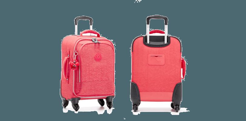 le bagage cabine kipling yubin spin mon bagage cabine. Black Bedroom Furniture Sets. Home Design Ideas
