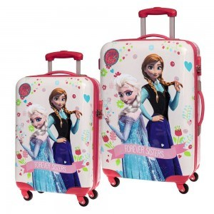 Disney La Reine des Neiges 2 Valise /à roulettes Magical Journey Elsa et Anna